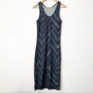 Rachel Rachel Roy Fitted Chevron Knit Midi Dress